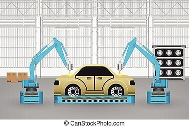 Roboterautos.