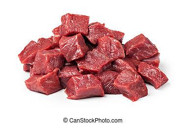 rohes fleisch, rindfleisch