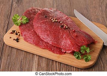 Rohes Fleischfleisch