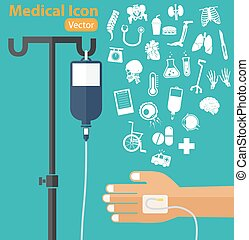 rollstuhl, hand, iv, chirurgisch, thermometer, droge, lunge, salzhaltig, rohr, ), (, patient, medizinprodukt, organ, 's, messer, krankenwagen, ikone, rückgrat, medizin, stange, loesung, tasche, tabelle, krückstock, stethoskop