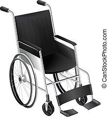 Rollstuhl.