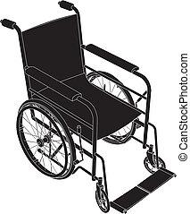 Rollstuhlvektor