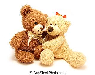 Romantische Teddybären