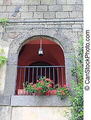 Romantischer Balkon