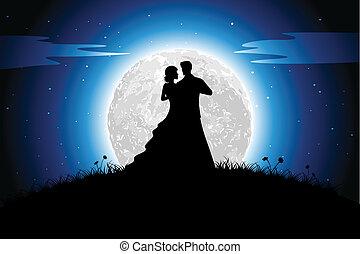 romanze, nacht