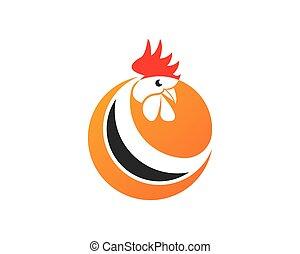 Rooster-Logo-Vektor.