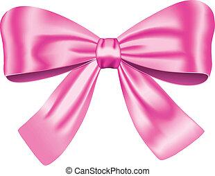 rosa, geschenk verbeugung