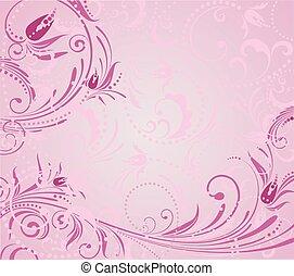 rosa, grunge, hintergrund
