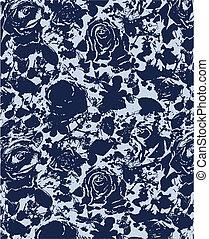 Rose-Blumen-Papier-Hintergrund