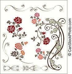 Rose Dekoration