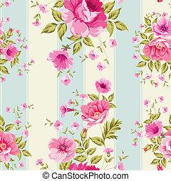 Rosen, Blumentapete