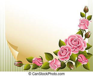 Roses Hintergrund