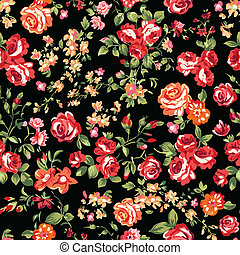 Rot auf schwarzen Rosen