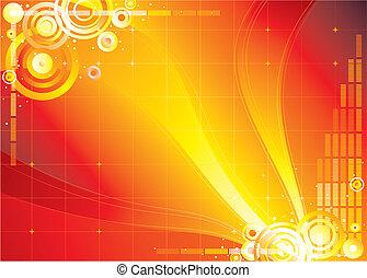 Rote Farbe, unendlicher Hintergrund