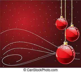Rote Weihnachten