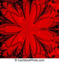 Roter abstrakter Hintergrund