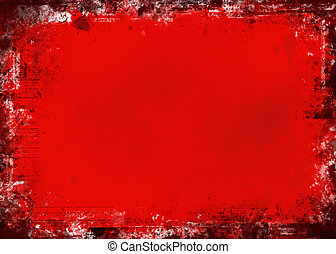 Roter Grunge