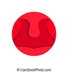 Roter Hals.