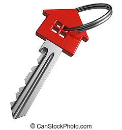Roter Hausschlüssel