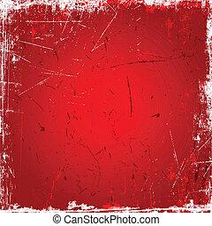 roter hintergrund, grunge