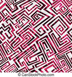 Rotes Labyrinth nahtlos