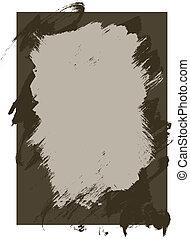 Rough Ink und Farbe Textur Hintergrund.