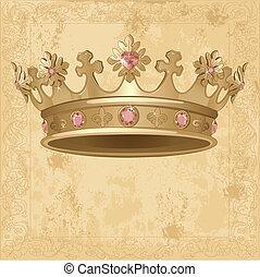 Royal Crown Hintergrund.