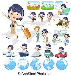 Rufen Sie Center Woman_travel.