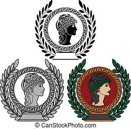 Ruhm der alten griechischen Frau