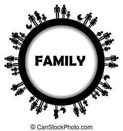 Rund um die Familie Simbols.