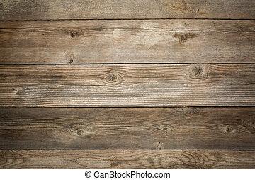 Rustische Witterung aus Holz.
