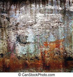 Rustyfarbener Grunge-Hintergrund