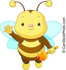 Süße Babybiene