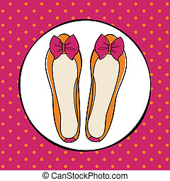 Süße Ballerina-Schuhe