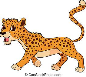 Süßer Gepard-Cartoon.