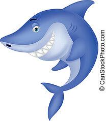 Süßer Hai-Zeichentrickfilm