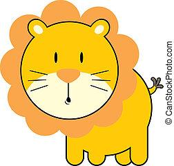 Süßer, kleiner Löwe