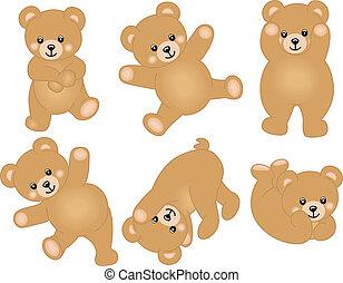 Süßer kleiner Teddybär