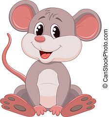 Süßer Maus-Cartoon