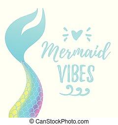 Süßer Meerjungfrauenschwanz