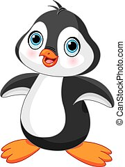 Süßer Pinguin.
