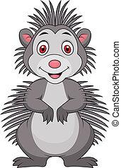 Süßer Stachelschwein-Cartoon