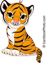 Süßer Tigerjunge