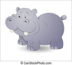 Süßes Nilpferd