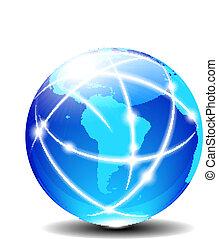 Süd-Latin Amerika global