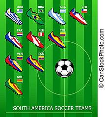 Südamerikanische Fußballteams