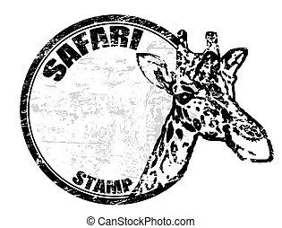 Safari-Stempel