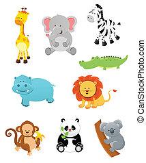 Safari-Tiere