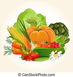 Saftiges Gemüse für dein Design