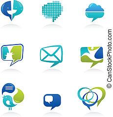 Sammeln von sozialen Medien und Redebläschen